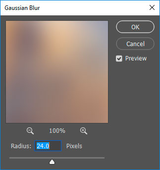 Gaussian Blur window