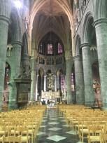 Inside the Collegiate Church of Notre Dame de Dinant