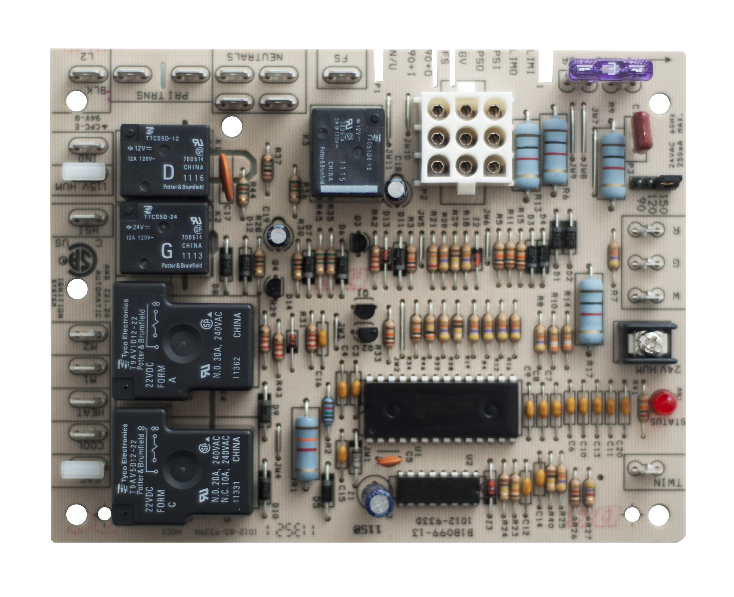 janitrol furnace thermostat wiring diagram 2004 jeep grand cherokee laredo radio circuit board — b1809913s goodman/janitrol control | goodman repair parts