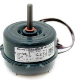 condenser fan motor b13400252s goodman janitrol 1 6 hp 1 speed  [ 2015 x 1951 Pixel ]