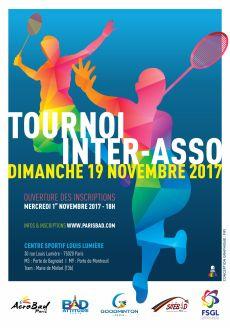 Tournoi inter-asso novembre 2017