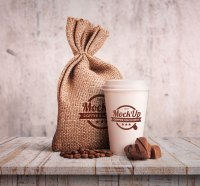 Free Pizza Box Packaging, Coffee Cup & Stationery Mockup ...