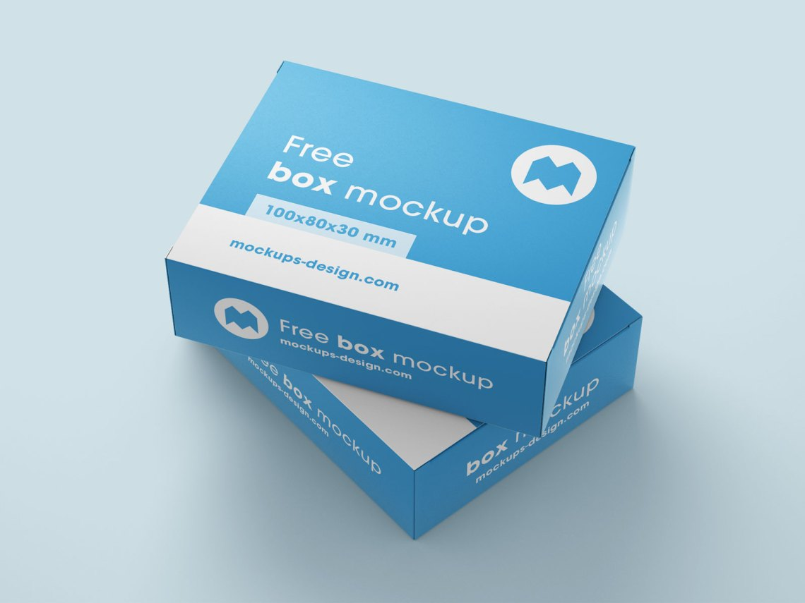 Download Free Box Packaging Mockup PSD Set - Good Mockups