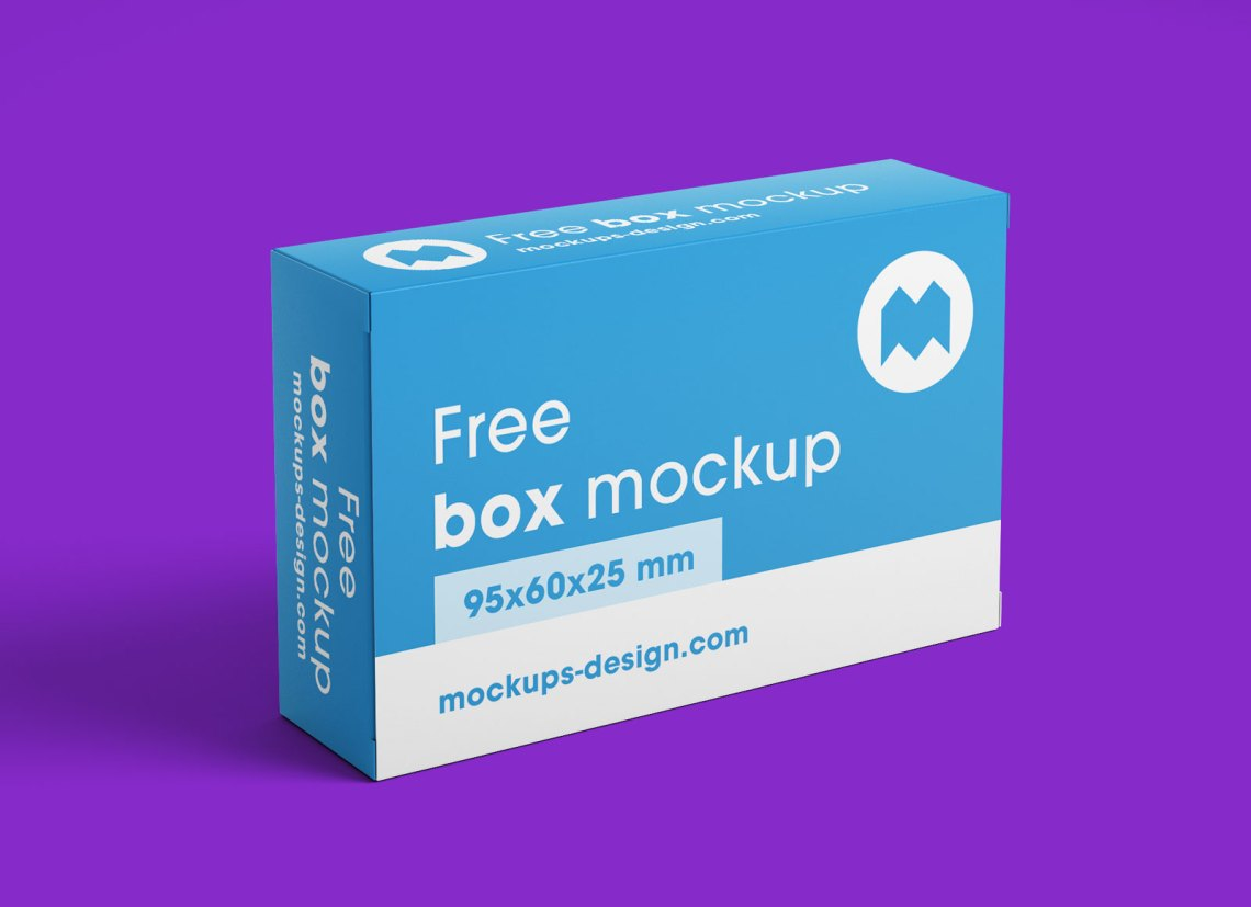 Download Free Rectangle Box Packaging Mockup PSD Set - Good Mockups