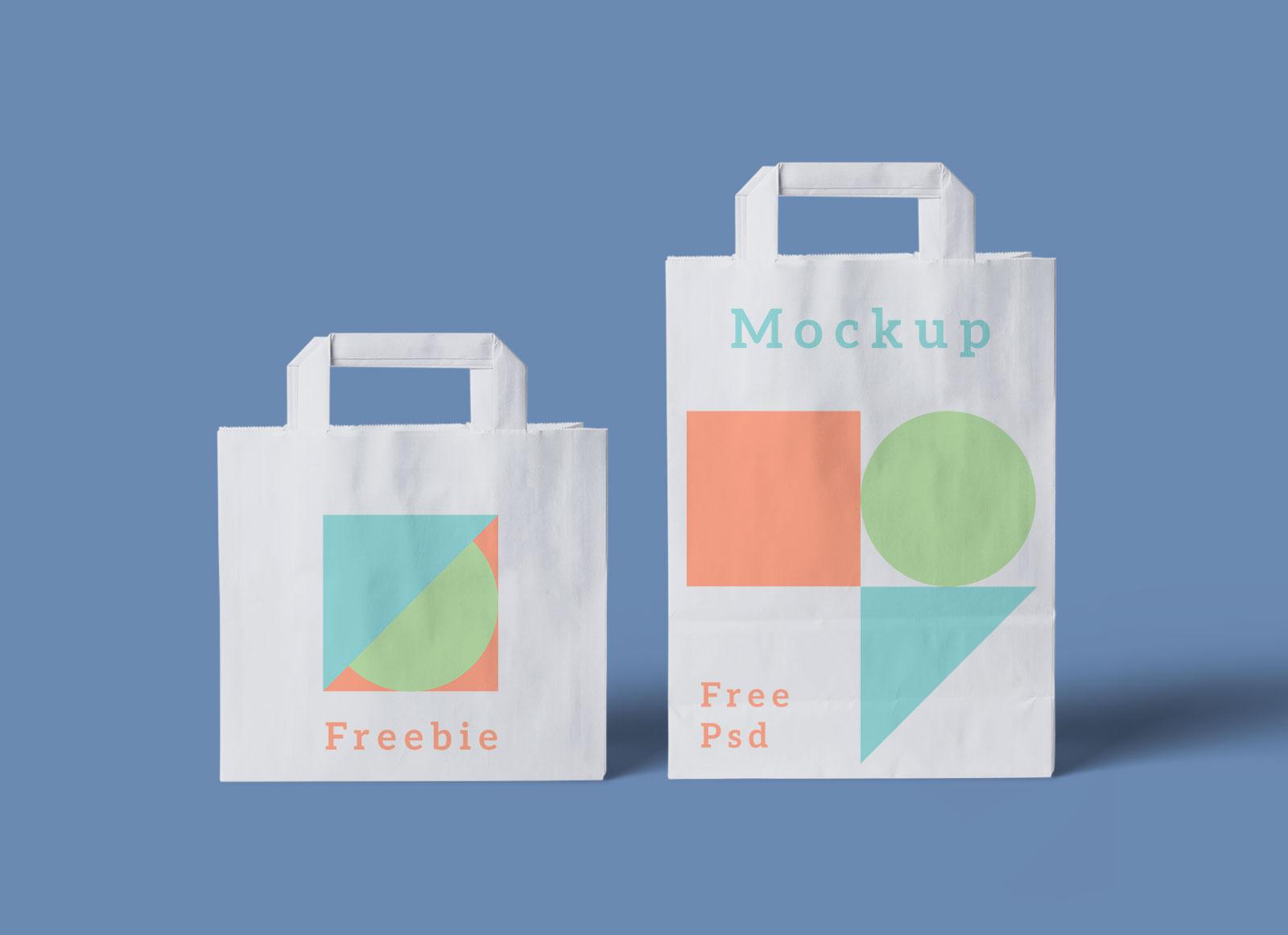 Download 2200+ royalty free shopping bag mockup vector. Free Paper Shopping Bag Mockup Psd Good Mockups