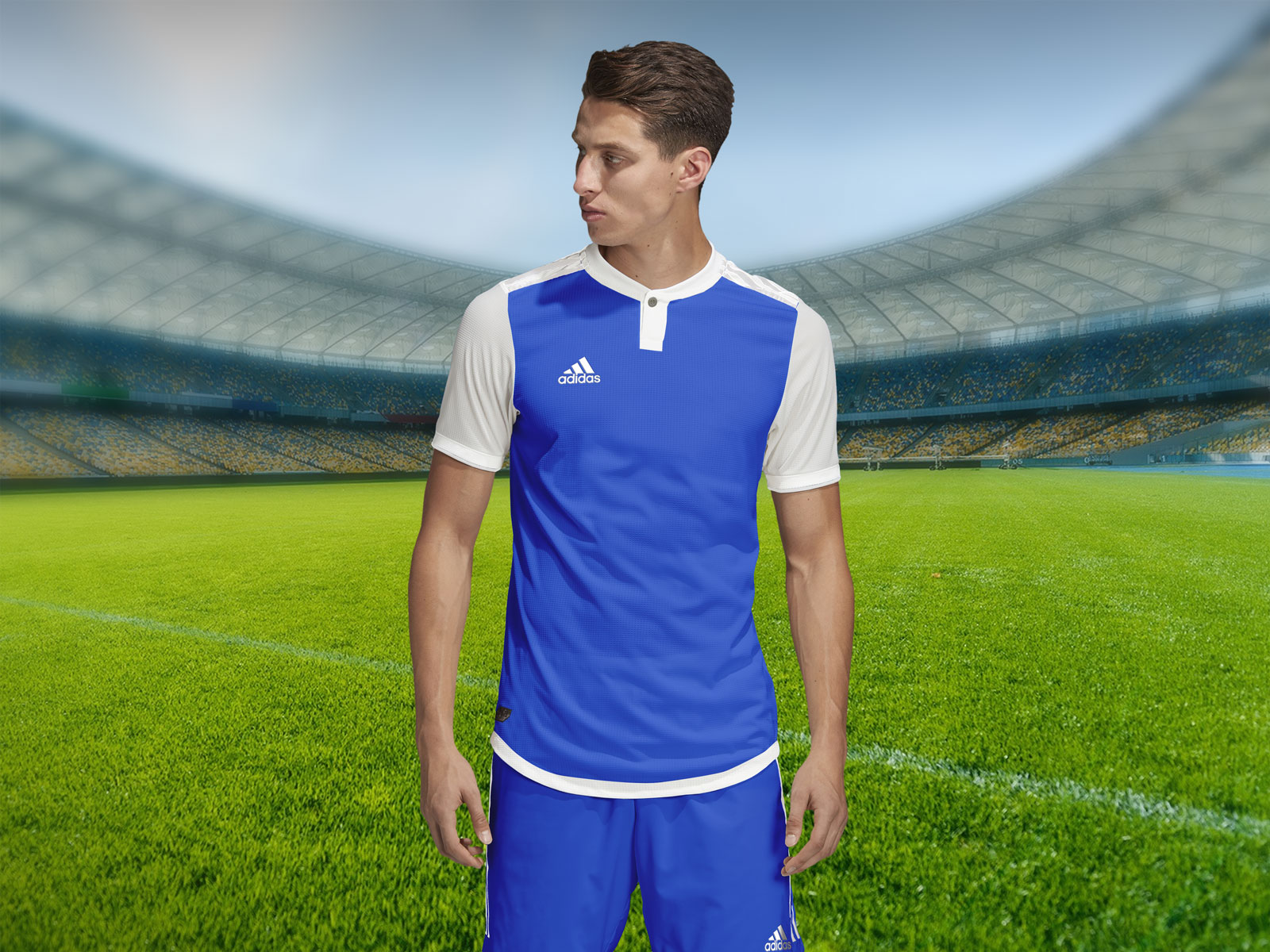 ✓ free for commercial use ✓ high quality images. Free Adidas Style Soccer Jersey Sports T Shirt Mockup Psd Good Mockups