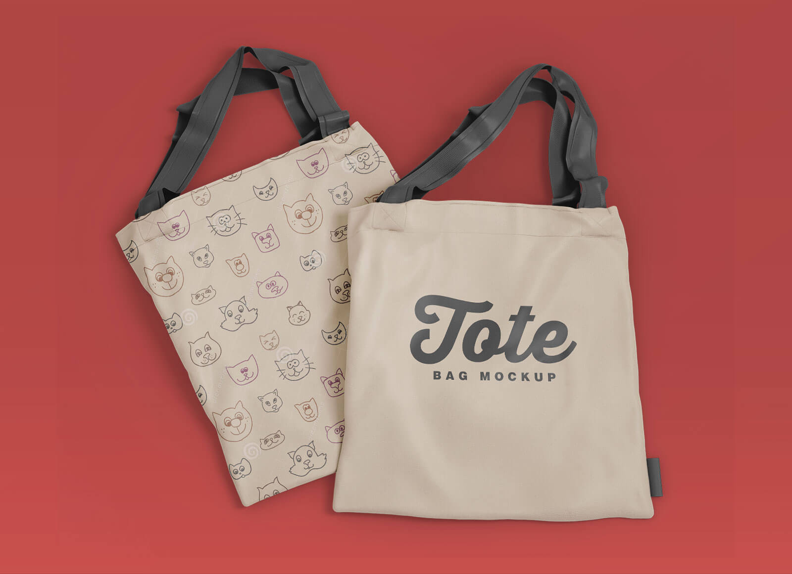 The psd file allows you to change all elements and come with many customization options. Free Modern Tote Bag Mockup Psd Set Good Mockups