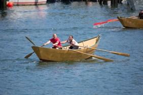Rowing Hard!