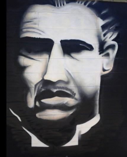 "Danny Diamond ""The Godfather"" 2013 Gloucester MA (Greeke wall 2013 behind Prince Insurance)"
