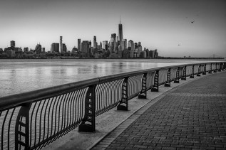 View over to Manhattan from Hoboken, NJ