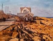 """Stephen LaPierre, Eden Road, oil on canvas, 12"""" x 16"""" ~ $1500"""