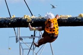 Saturday Greasy Pole 2017 -11 copyright Kim Smith