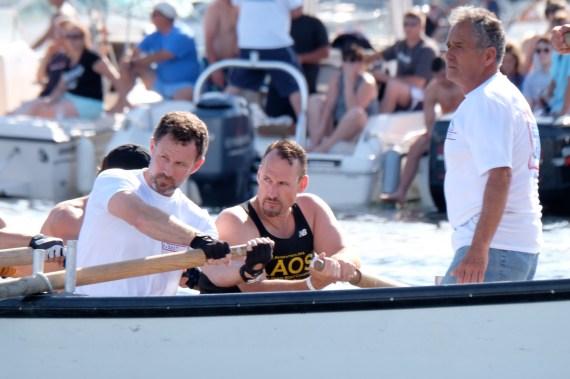 Saturday Men's Seine Boat Races Joe Novello 2017 copyright Kim Smith