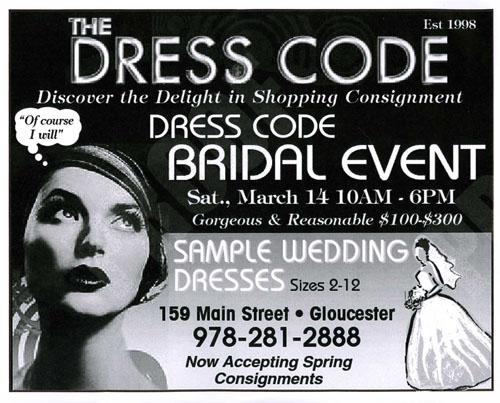 Won t you marry me bill goodmorninggloucester for Morning wedding dress code