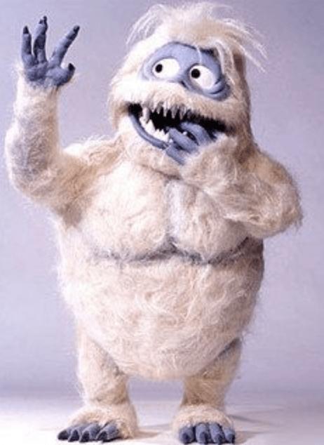 Yeti, a Prehistoric Snowmonster