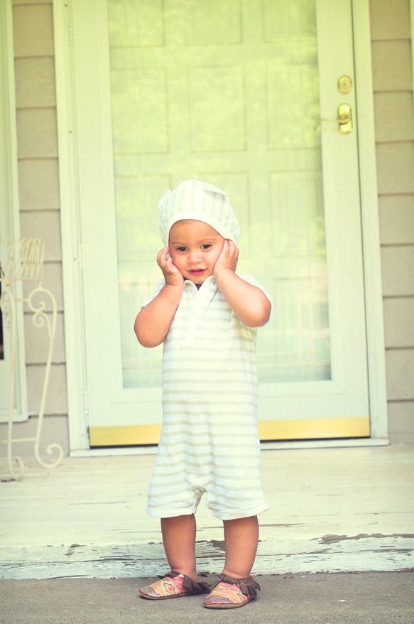 Hooded Romper Toddler