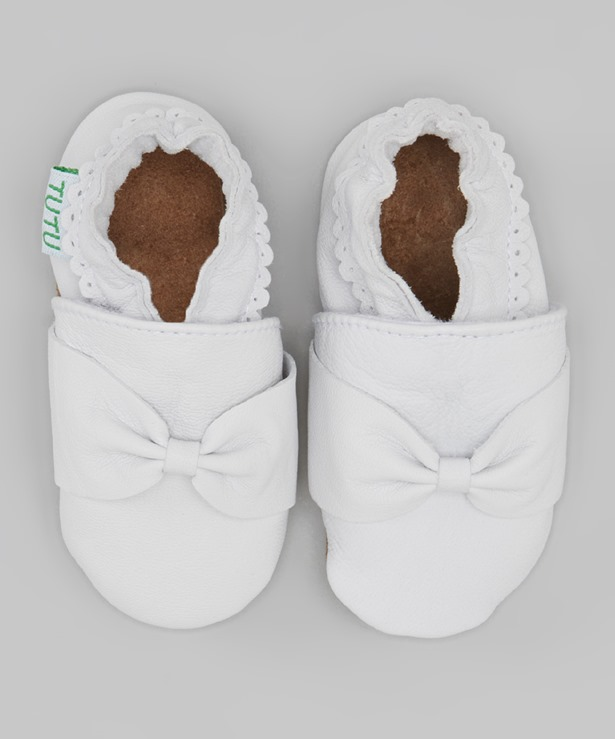 white moccasins ruffle bow eyelet cheap