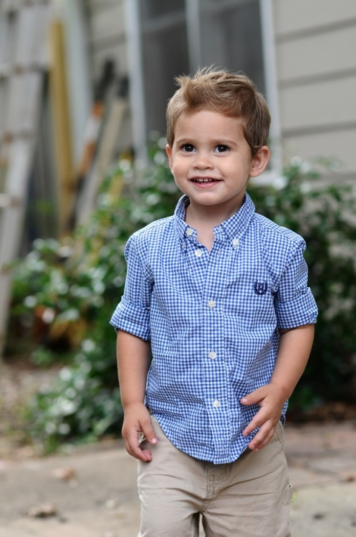 Toddler Boy Style and Haircut