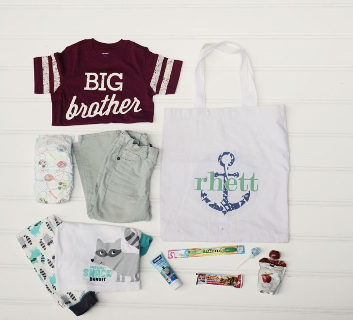 big brother bag overnight travel what to pack for toddlers