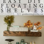 D.I.Y. Floating Shelves