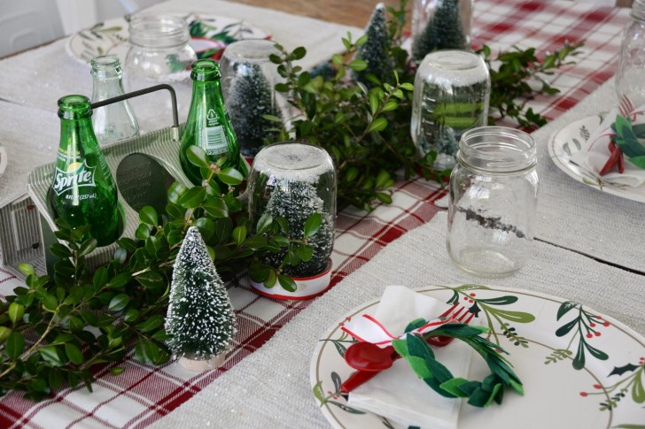 Christmas party table decoration (2)
