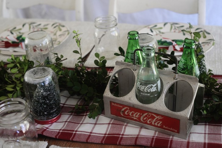 Christmas party table decoration (6)