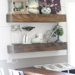 Redecorating Our DIY Floating Shelves for Fall