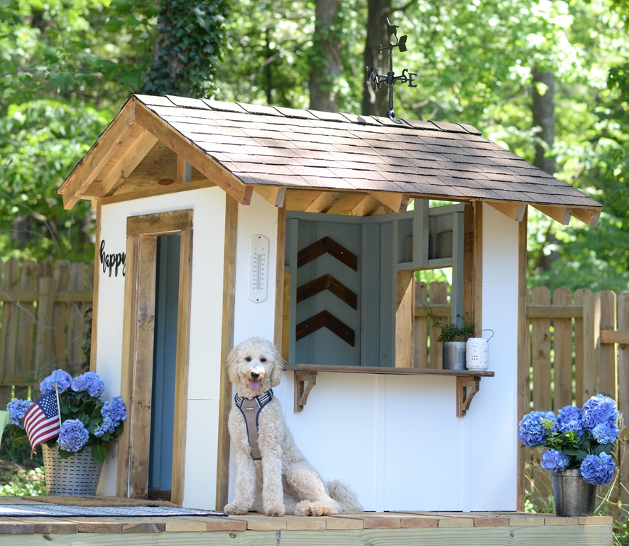 How To Roof A Playhouse Good Morning Loretta