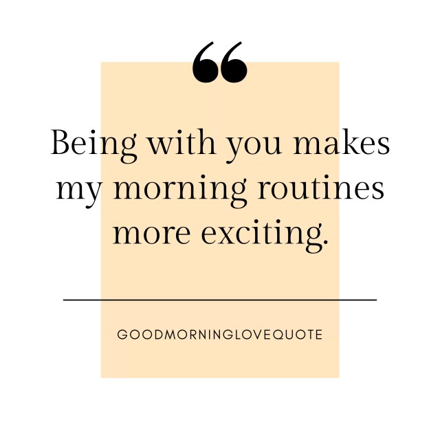 200 Romantic & Sweet Good Morning Love Quotes Messages 1