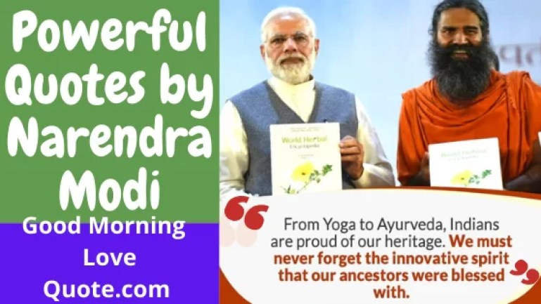 Powerful Quotes by Narendra Modi on Yoga with Baba Ramdev Motivational Inspirational Message for world