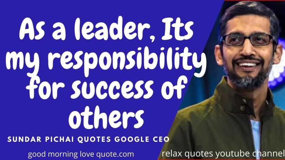 Best Motivational Sundar Pichai Quotes on Life Image 6