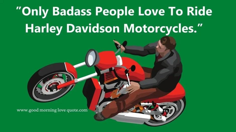 Harley Davidson Bike Quotes
