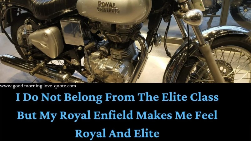 Bullet Quotes Royal Enfield Status