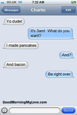 Funny Text Messages For Her : funny, messages, Funny, Morning, Texts,, Quotes,, Poems, Messages