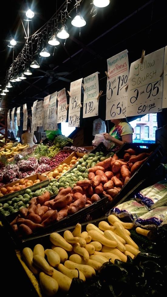 blog voyage nourriture usa, quoi manger aux USA, manger sain au états unis