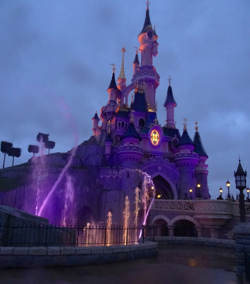sejour disneyland paris blog voyage spectacle chateau