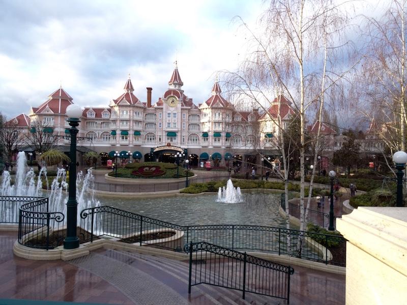 sejour disneyland paris blog voyage vue parc