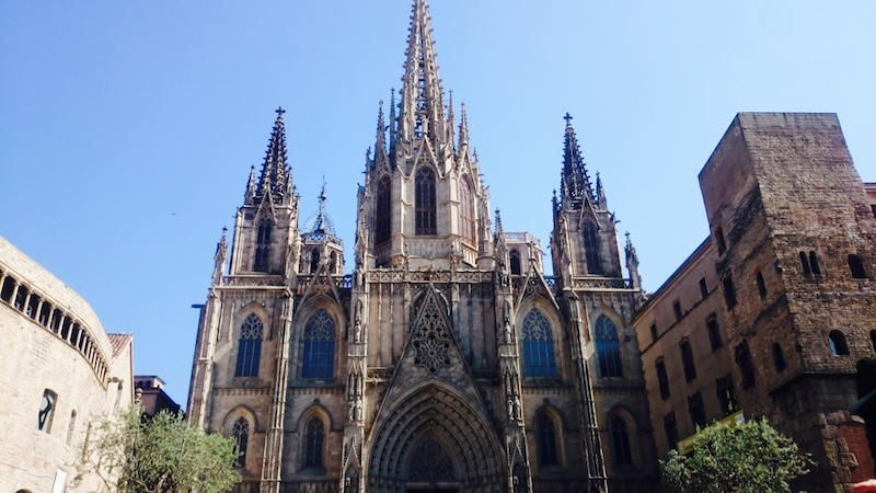 cathedral barcelone visite