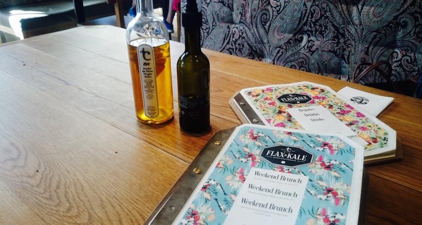 restaurant vegan flax and kale barcelone