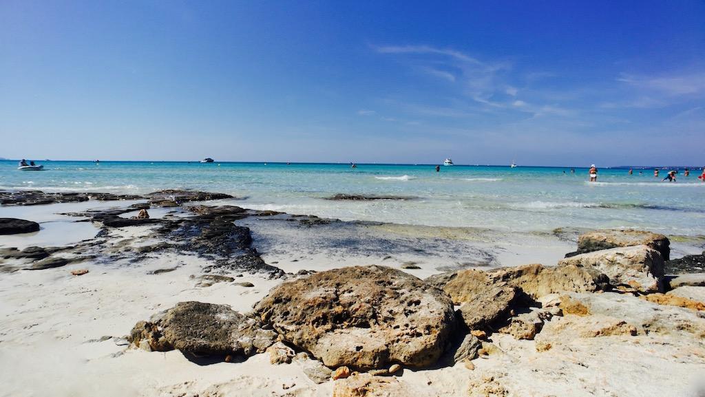 plage es trenc majorque sable blanc