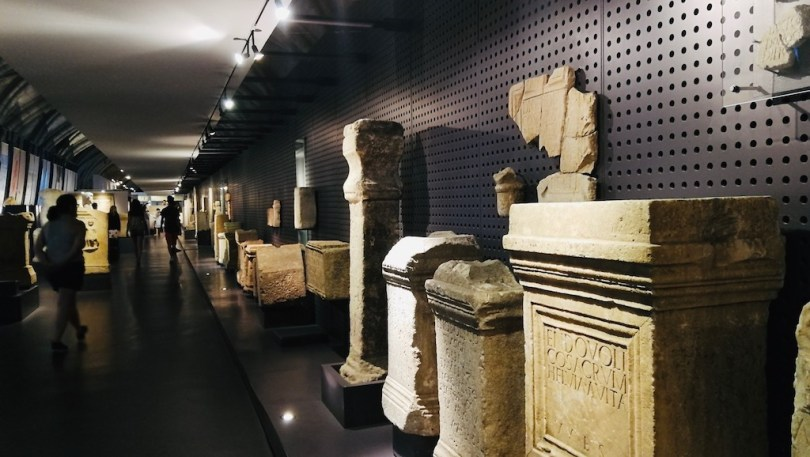 intérieur du musée archéologique de belem