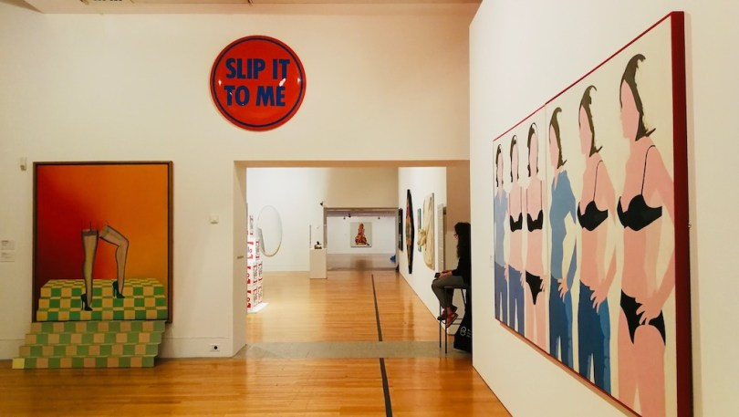 exemple oeuvre dans le musée berardo a belem
