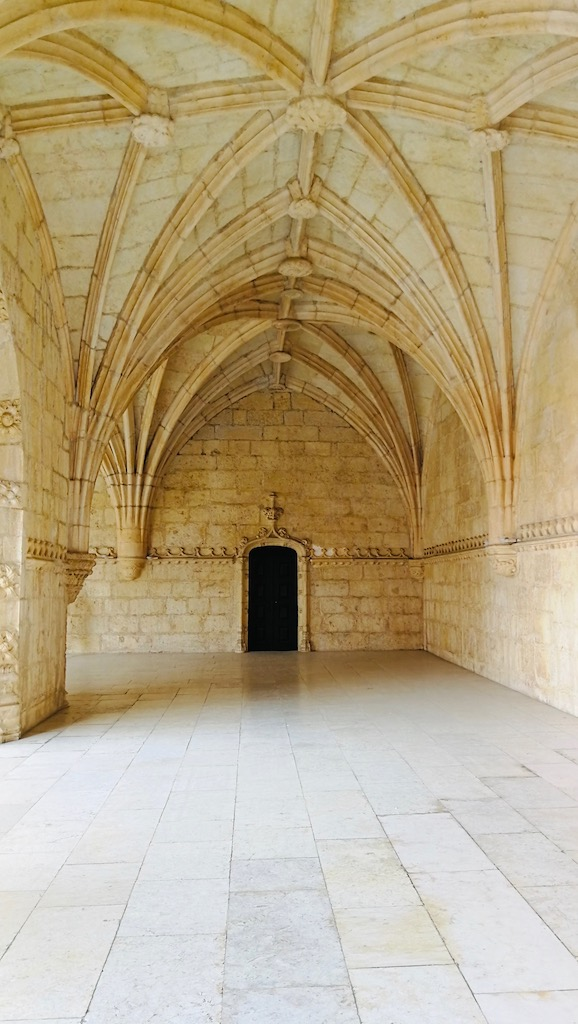 détail de la voute du monastère de Belèm