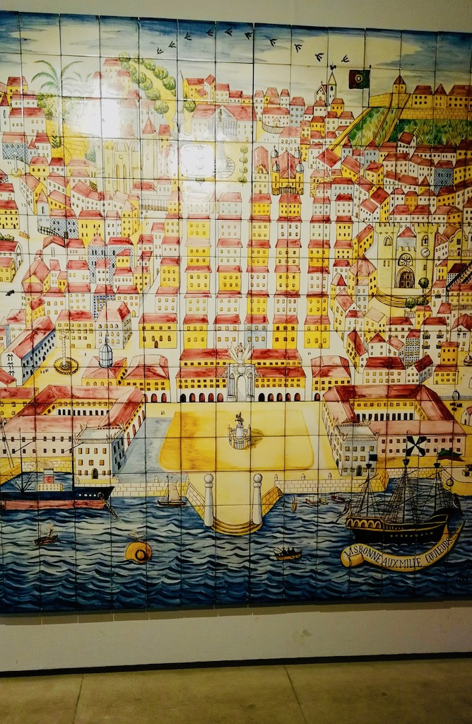 musee azulejos plan de lisbonne