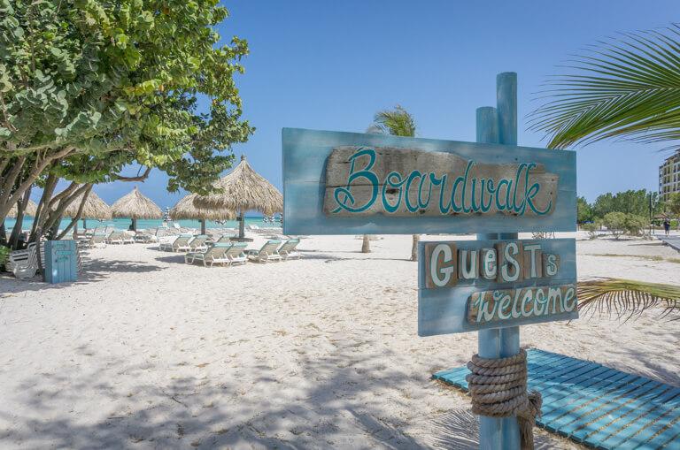 De mooiste stranden ter wereld Aruba