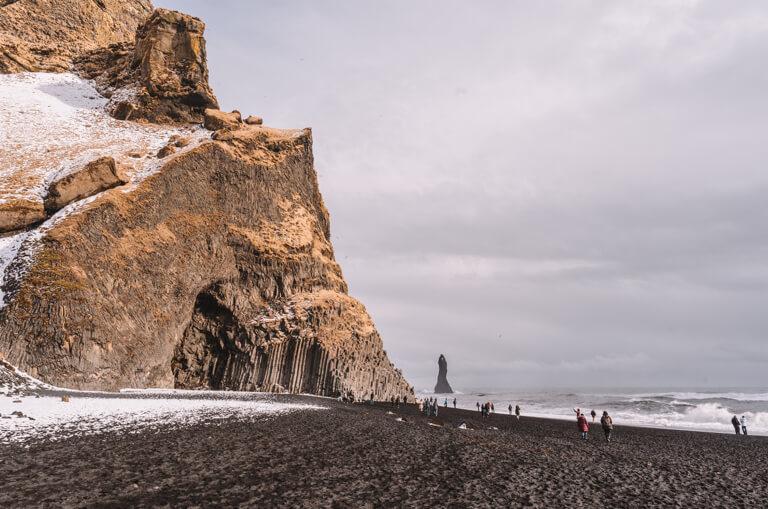 De mooiste stranden ter wereld IJsland Vik