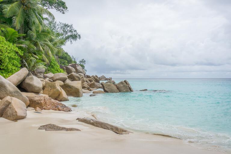 De mooiste stranden ter wereld Seychellen Praslin