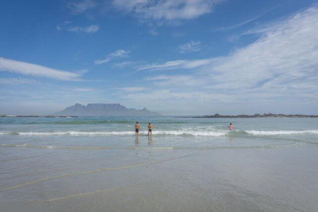 Kaapstad vakantie Zuid-Afrika Bloubergstrand