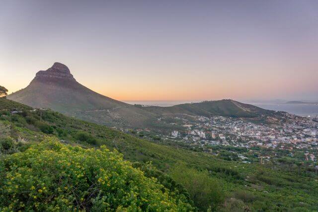 Kaapstad vakantie Zuid-Afrika Tafelberg