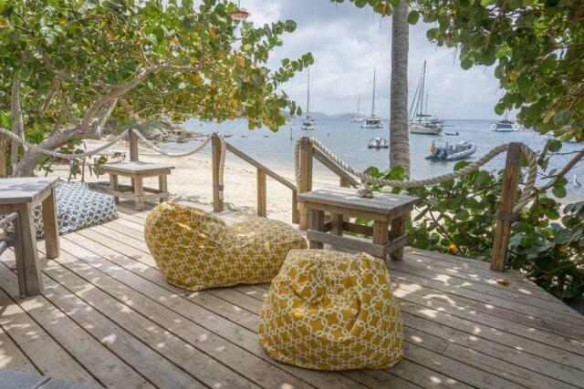 Britse Maagdeneilanden Caribische Britse Maagdeneilanden Cooper Island beachclub